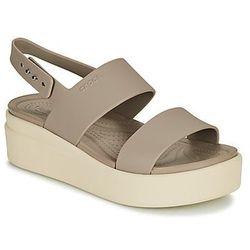 Crocs Sandały crocs brooklyn low wedge w