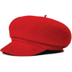 - audrey brim beret red (red) rozmiar: m marki Brixton