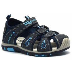 Sandały dla dzieci Wojtyłko 41221 Granatowe (5908243009277)