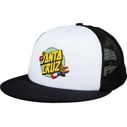 czapka z daszkiem SANTA CRUZ - Summer of 76 Mesh Back White/Black (WHITE-BLACK) rozmiar: OS