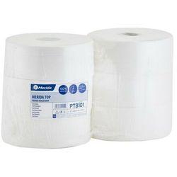 Papier toaletowy Merida Top, 2 warstwy, celuloza - 6 rolek, 130041