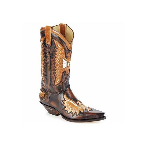 Kozaki Sendra boots CHELY, kolor brązowy