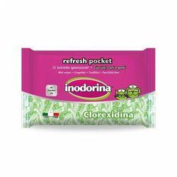 Inodorina Refresh Clorexidina Pocket chusteczki nawilżane 15szt, Ind20121