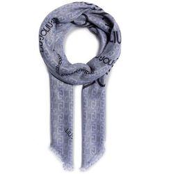 Chusta LIU JO - S Ecs Foulard 120x120 Logo Stell 3F0020 T0300 Mercurio 73907, kolor szary